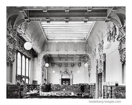 Archiv-Nr. hr85 / Alter Lesesaal der Universitätsbibliothek