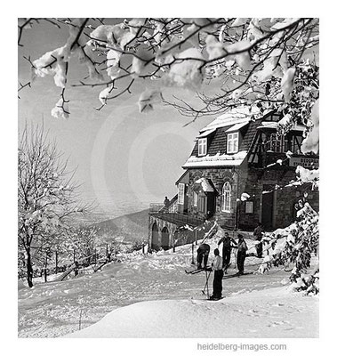 Archiv-Nr. 13_2H / Winteridyll auf der Bergstation