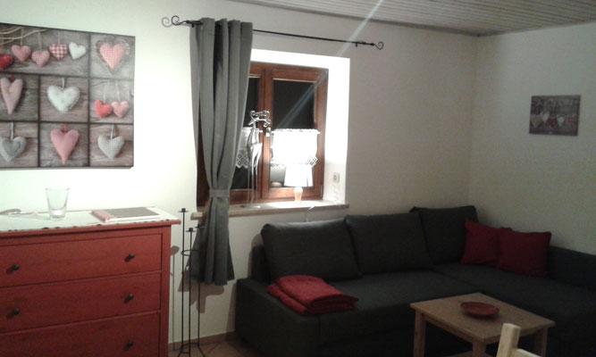 Wohnecke, Couch ausziehbar