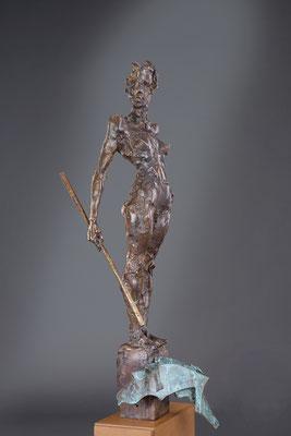 WAIDMANNSDANK, Bronze, Höhe 95 cm, 2014