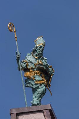 NIKOLAUS, Bronze, 140 cm Höhe, 2014