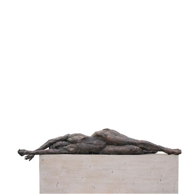 DORIS, Bronze, lebensgroß, 1991