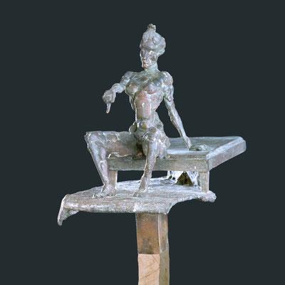 RAPPORT, Bronze, 45x30 cm, 2006