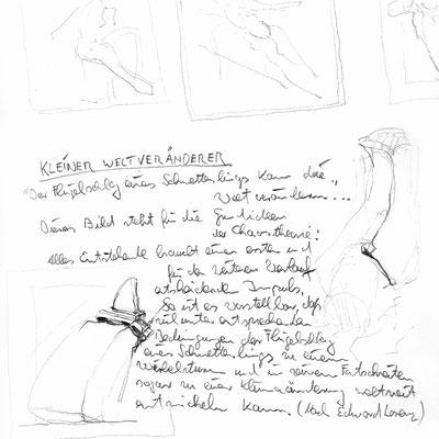 KLEINER WELTVERÄNDERER, Bleistift, 30x20 cm, 2005