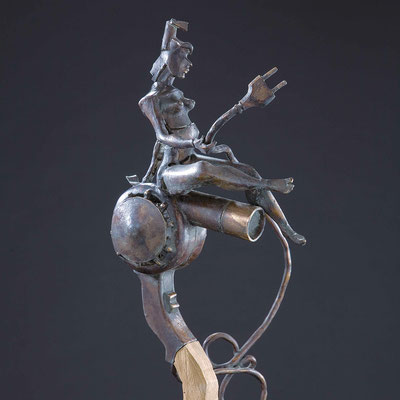 BLOWJOB, Bronze, 50x20 cm, 2006