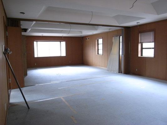 逗子山の根の住宅リフォーム施工例(施工前)