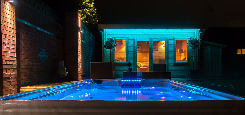 Swim Spa Wellnessanlage
