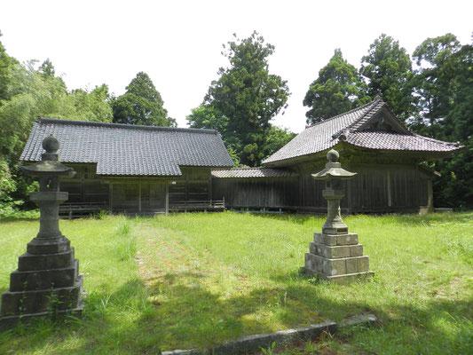 武井 熊野神社能舞台