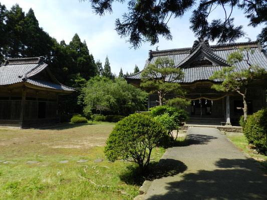 牛尾神社 拝殿
