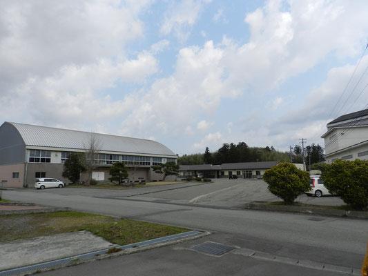 新穂行政SC庁舎建設工事現場(3月)