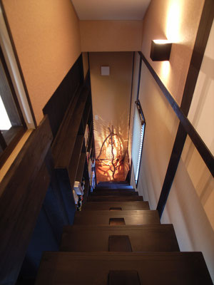 ▲階段(上から)