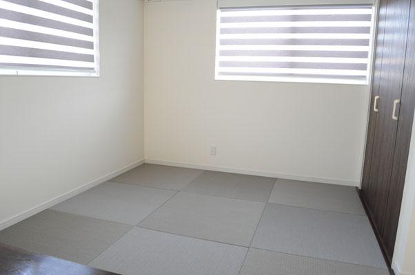 畳のファミリースペース(フチ無し半畳)