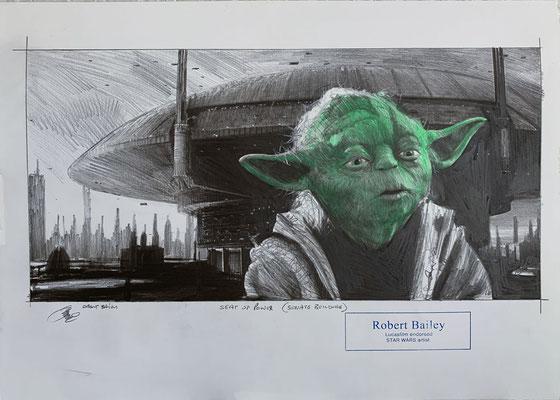 Zeichnungen von Robert Bailey