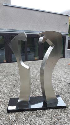 Stahlskulpturen von Guido Häfner
