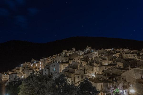 Panorama notturno - Scanno - (2016)