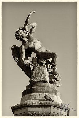 L'Angelo-Diavolo al Parque del Retiro
