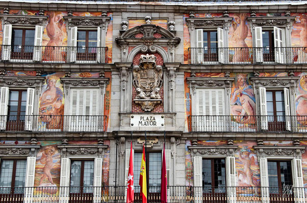 Madrid - Plaza Mayor - (2012)