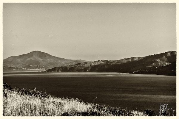 La costa pisciottana vista dal faro di Palinuro