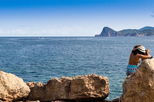 Il bacio (ovvero Attenzione al cappello!) - Cala Bassa - Ibiza - (2017)