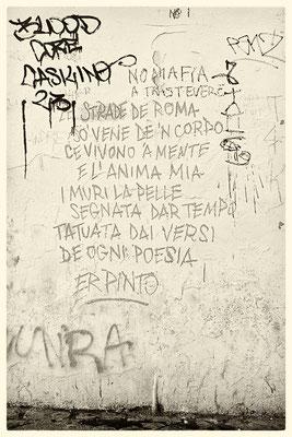 Un po' di poesia a Piazza San Callisto