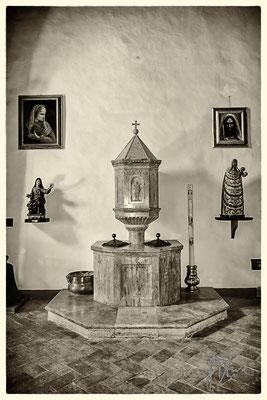 Chiesa di San Pietro (Fonte battesimale)