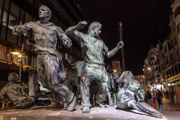 Monumento all'Encierro - Pamplona - (2016)