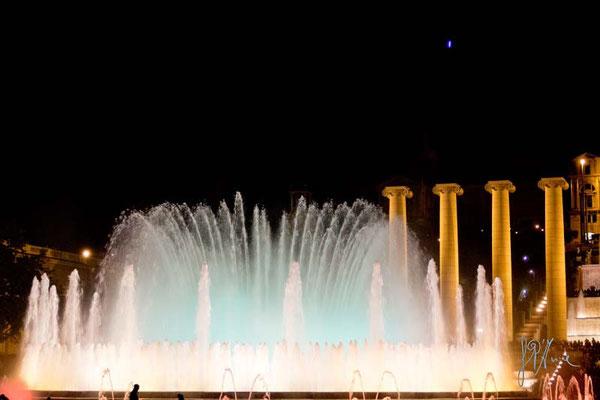 Barcellona - Fontana musicale  - (2014)