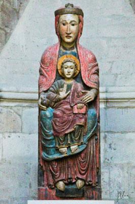 Spagna - Tudela, catedral, Virgen Blanca - (2010)
