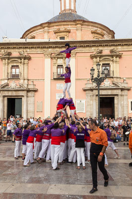 Castellers (torri umane)  - Valencia - (2019)