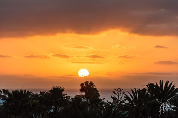 Panorama da Puerto del Carmen - Lanzarote - (2017)