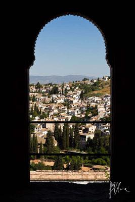 L'Albayzín visto dal Generalife