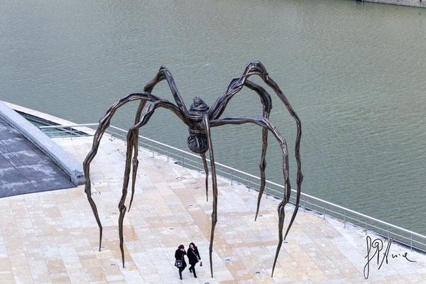 Il ragno più ammirato al mondo - (Bilbao 2016)