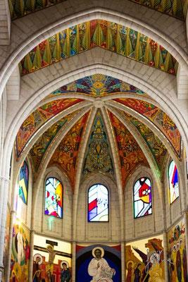 Madrid - Cattedrale dell'Almudena (interno)  - (2014)