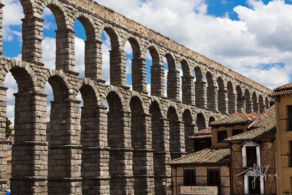 Segovia - L'Acquedotto Romano e la Casa di Candido - (2014)