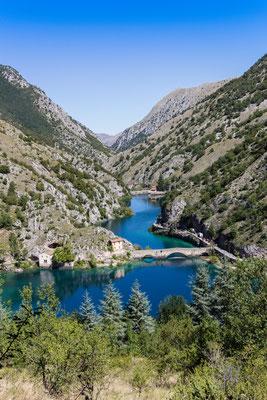Lago di San Domenico - Villalago (2016)