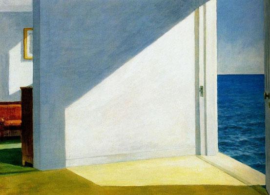 Edward Hopper - Stanza sul mare
