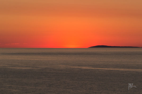 Rodi Garganico - San Nicola (Isole Tremiti) al tramonto - (2016)