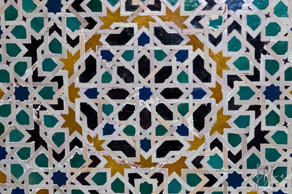 L'Alhambra - El Salón de los Embajadores (particolare)