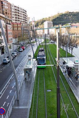 Bilbao - La metro di superficie - (2016)