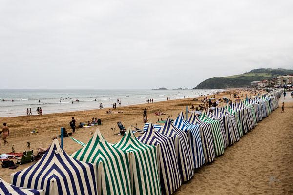 Toldos in Playa de Zarautz - Paesi Baschi - (2019)