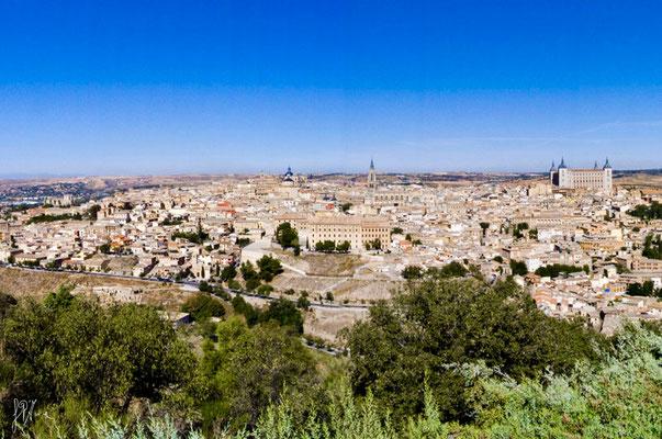 Spagna - Toledo, panorama - (2009)