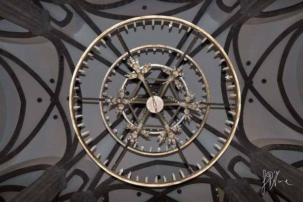 L'oggetto misterioso (Lampadario della Chiesa di San Giovanni di Telde) - (Gran Canaria 2014)