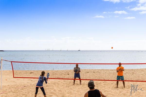 Una palla all'orizzonte - (Lanzarote 2017)