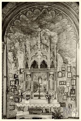 Chiesa della Madonna del Lago (interno)
