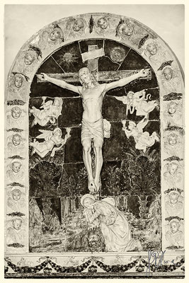 Chiesa di San Pietro (Crocifissione con la Maddalena di Benedetto Buglioni)