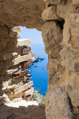 Scorcio dall'Isola San Nicola - Isole Tremiti - (2016)