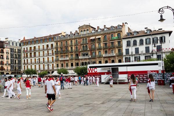 Il WC itinerante - Pamplona - (2017)