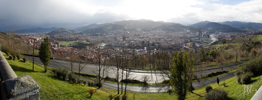 Bilbao - Panorama dalla collina di Artxanda - (2016)