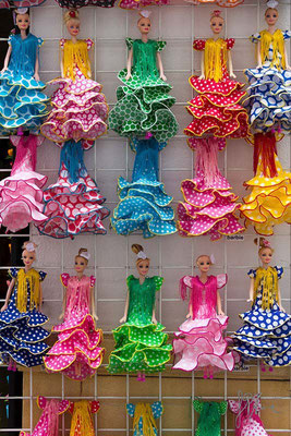 Madrid - Barbie con costumi spagnoli  - (2014)