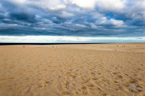 Sabbia, nuvole e mare - Fuerteventura  - (2017)